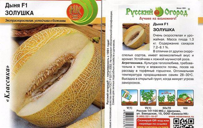 Астраханские дыни - сорта и гибриды