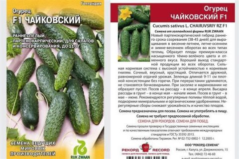 ВЗГЛЯД F1 — Огурец   Агроном.Инфо