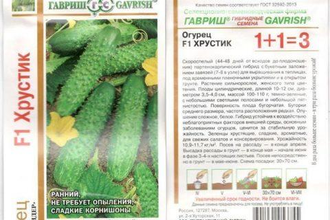 Полина — сорт растения Огурец