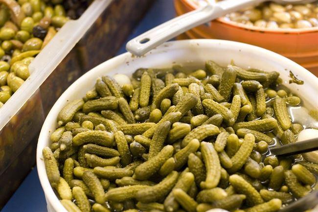 """Отзыв: Маринованные огурцы Практик """"Пикули по-берлински"""" - Огурчики супер маленькие, хрустящие и очень вкусные. Выращены в Индии."""