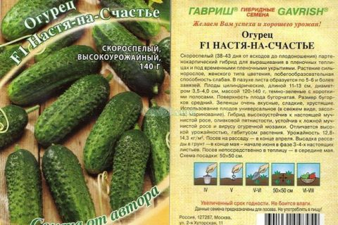 Огурец Разгуляй F1 10 шт. автор. — ГАВРИШ ГК