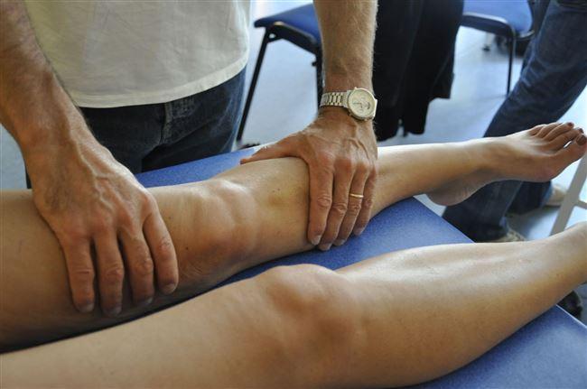 Массаж при артрозе колена