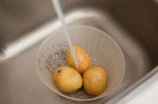 Мыть или не мыть картошку перед хранением