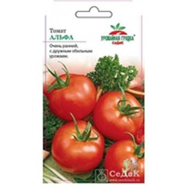 Описание и характеристика сорта томата Альфа, отзывы, фото