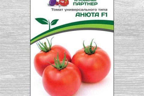 Томат Анюта F1: описание сорта, фото, отзывы, урожайность, характеристика