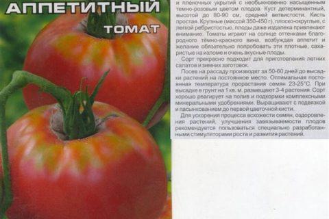 Томат Витязь: описание сорта — Про сорта!