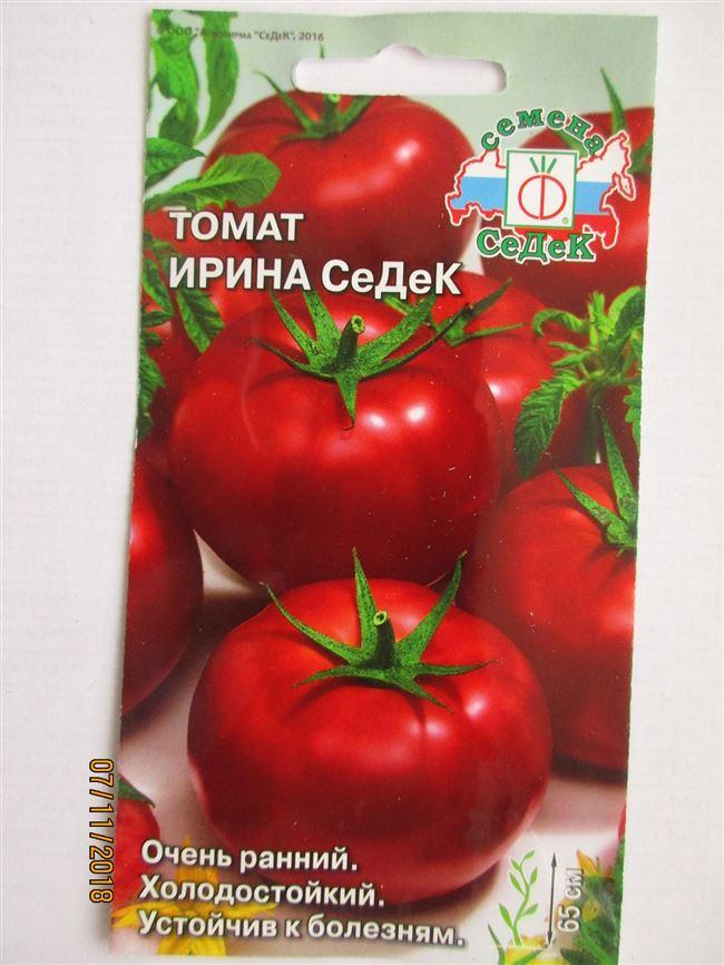 Томат Ирина СеДеК