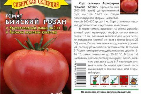 Любимец Кубани — сорт растения Томат