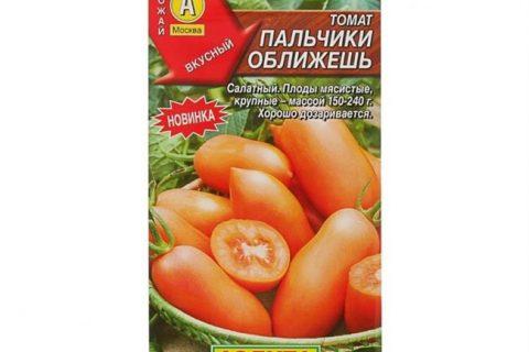 Томат Пальчики оближешь: характеристика и описание сорта, отзывы тех кто сажал помидоры об их урожайности, фото заготовок на зиму