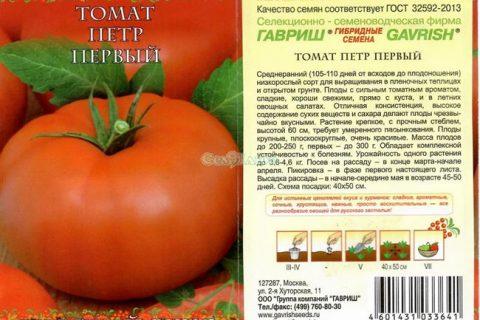 Характеристика томатов сорта петр великий | Lifestyle | Селдон Новости