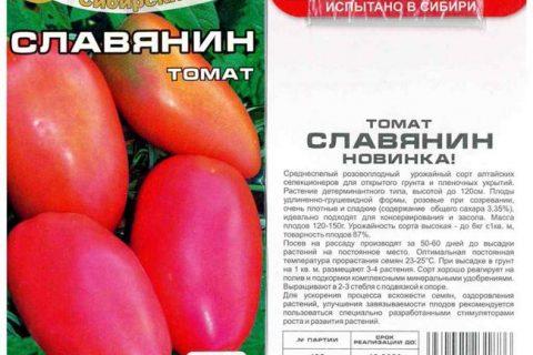 Томат «Славянин» описание сорта