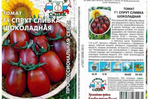 Томат сорта «Сливка московская»   Садоводство и Огородничество
