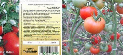 Томат Таймыр: отзывы, фото, характеристика и описание сорта, урожайность
