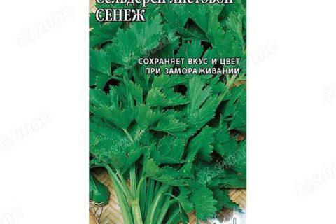 Сенеж — сорт растения Сельдерей черешковый и листовой